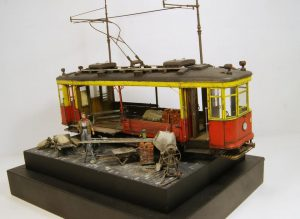 38020 SOVIET TRAM X-SERIES. EARLY TYPE + 35593 CONCRETE MIXER SET + 35594 CONSTRUCTION SET + Eugene Tur