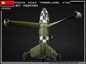 Photos 40009 FOCKE WULF TRIEBFLUGEL VTOL JET FIGHTER