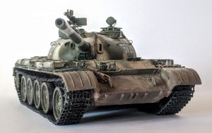 37019 T-54B EARLY PRODUCTION + Fedorinov Sergey