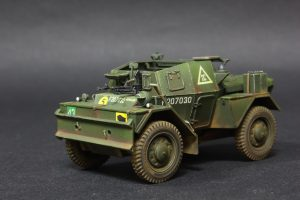 35077 DINGO Mk.III BRITISH SCOUT CAR w/CREW + Dmitry Yektenev