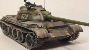 37007 T-54-3 SOVIET MEDIUM TANK. Mod 1951. INTERIOR KIT + Pasha Denisov