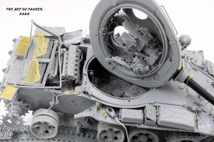 37018 T-55 Mod. 1963 INTERIOR KIT + The Art Of Panzer