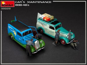 38019 CAR MAINTENANCE 1930-40s