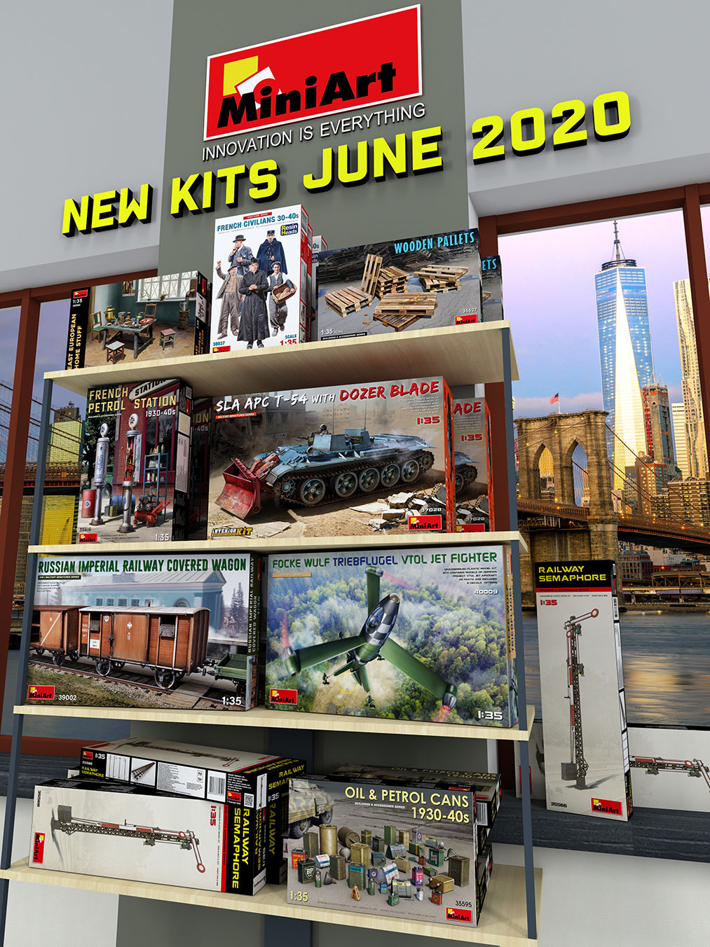 New MiniArt Kits Available June 2020