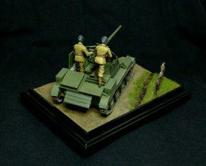 35240 ROMANIAN 76-mm SPG TACAM T-60 INTERIOR KIT + Kimmo Happonen