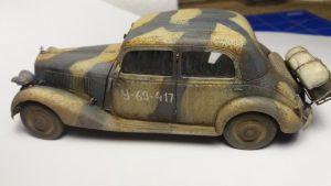 35203 Personenwagen TYP 170V SALOON + Serge Joly