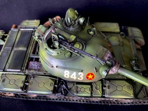 37011 T-54B SOVIET MEDIUM TANK. EARLY PRODUCTION. INTERIOR KIT + Hung Nguyen