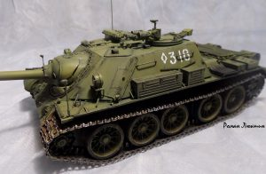 37035 SU-122-54 EARLY TYPE + Roman Lukshin