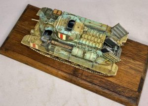 35116 BRITISH INFANTRY TANK VALENTINE Mk.I w/CREW + Won Beom Lee