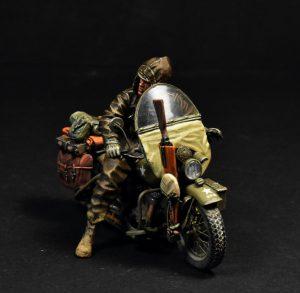 35172 U.S. MOTORCYCLE WLA w/RIDER + Gaishi Shosuro