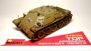 37038 TOP ARMOURED RECOVERY VEHICLE + Peter's Models