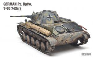 35026 GERMAN Pz. Kpfw. T-70 743(r) w/CREW + Maschinen Krueger (Bryan Krueger)