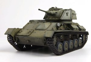 35243 T-80 SOVIET LIGHT TANK w/CREW. SPECIAL EDITION + Alexander Nagibovich