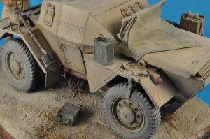 35067 DINGO Mk.1b BRITISH SCOUT CAR w/CREW + Loris Visintini