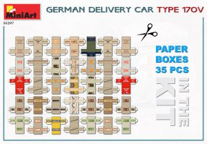 Content box 35297 GERMAN DELIVERY CAR TYPE 170V
