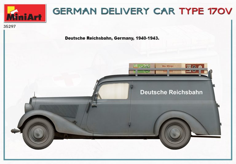 35297 GERMAN DELIVERY CAR TYPE 170V