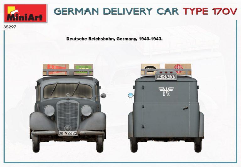 35297 GERMAN DELIVERY CAR TYPE 170V