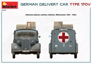 Side views 35297 GERMAN DELIVERY CAR TYPE 170V