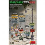35611 ROAD SIGNS WWII ITALY
