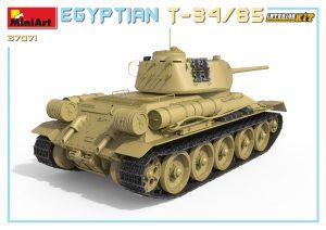 3D renders 37071 埃及T-34/85坦克 带内构