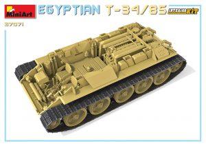 3D renders 37071 EGYPTIAN T-34/85. INTERIOR KIT