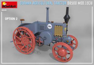 3D renders 38024 ドイツ製トラクター D8500 1938年モデル