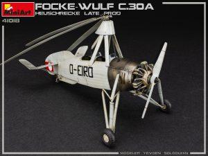 """Photos 41018 Разведывательный Автожир Focke Wulf FW C.30A """"Heuschrecke"""" Позднего Производства"""