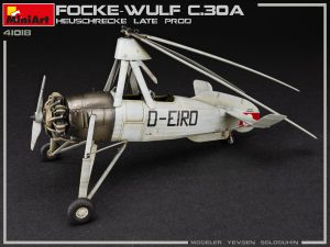 Photos 41018 FOCKE-WULF FW C.30A HEUSCHRECKE. LATE PROD