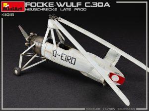 41018 FOCKE-WULF FW C.30A HEUSCHRECKE. LATE PROD
