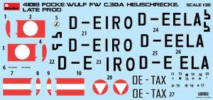 """Content box 41018 Разведывательный Автожир Focke Wulf FW C.30A """"Heuschrecke"""" Позднего Производства"""