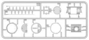 Content box 37071 エジプト軍 T-34/85フルインテリア(内部再現)