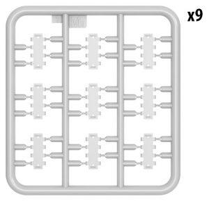 Content box 35293 T-34/85 w/D-5T PLANT 112. SPRING 1944