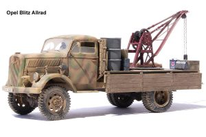 35576 3 TON SERVICE CRANE 35595 OIL & PETROL CANS 1930-40s  Roland Sorgner