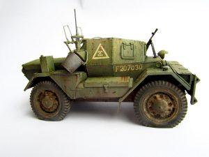 35077 DINGO Mk.III BRITISH SCOUT CAR w/CREW + Evgeny Ivanchenko