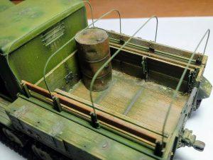 35052 Ya-12 SOVIET ARTILLERY TRACTOR + Matias Valdez