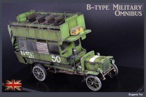 39001 B-TYPE MILITARY OMNIBUS + Eugene Tur