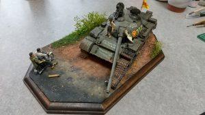 37017 T-54A SOVIET MEDIUM TANK + Hiroshi Kosaka