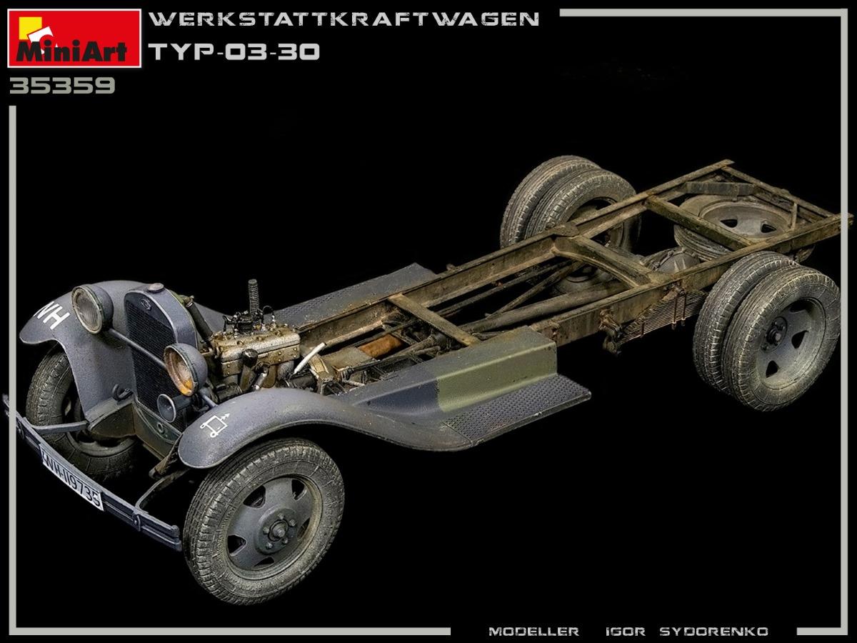 Build Up part 2 of Kit: 35359 WERKSTATTKRAFTWAGEN TYP-03-30