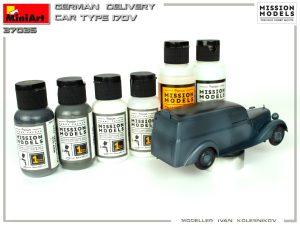 Build up 35297 GERMAN DELIVERY CAR TYPE 170V