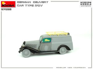 Build up 35297 GERMAN DELIVERY CAR TYPE 170V