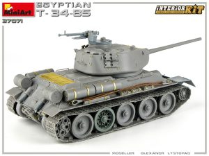 Build up 37071 エジプト軍 T-34/85フルインテリア(内部再現)