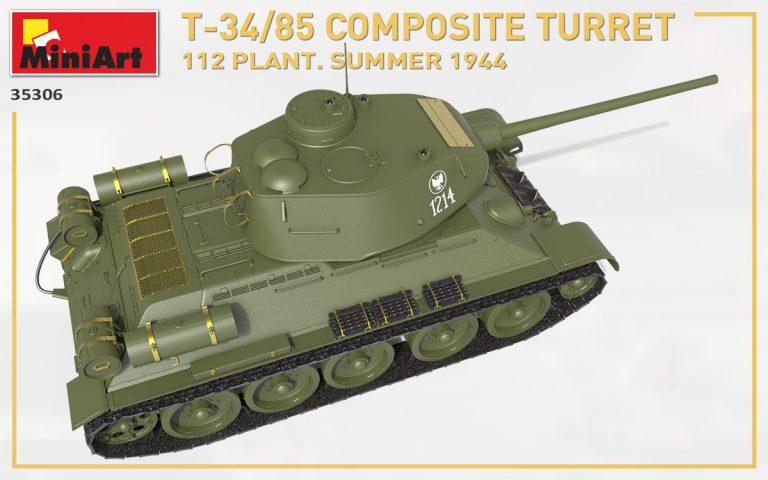 35306 T-34-85 Composite Turret. 第112工場製 (1944年夏)
