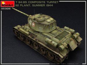 Photos 35306 T-34/85 COMPOSITE TURRET. 112 PLANT. SUMMER 1944