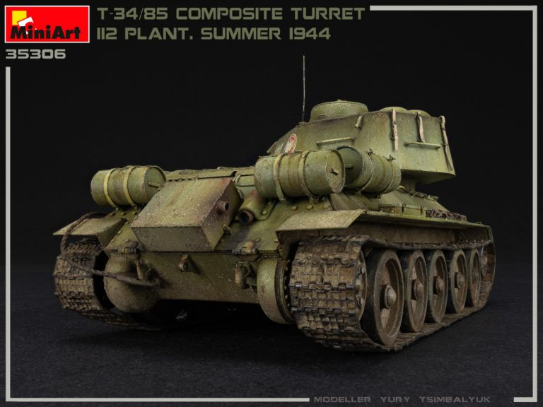 35306 T-34/85 COMPOSITE TURRET. 112 PLANT. SUMMER 1944