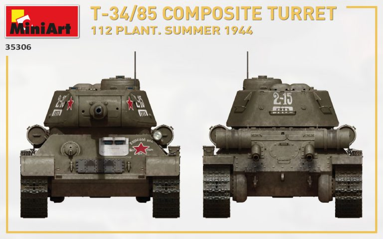 35306 T-34/85 COMPOSITE TURRET. 112 PLANT. SUMMER 1944