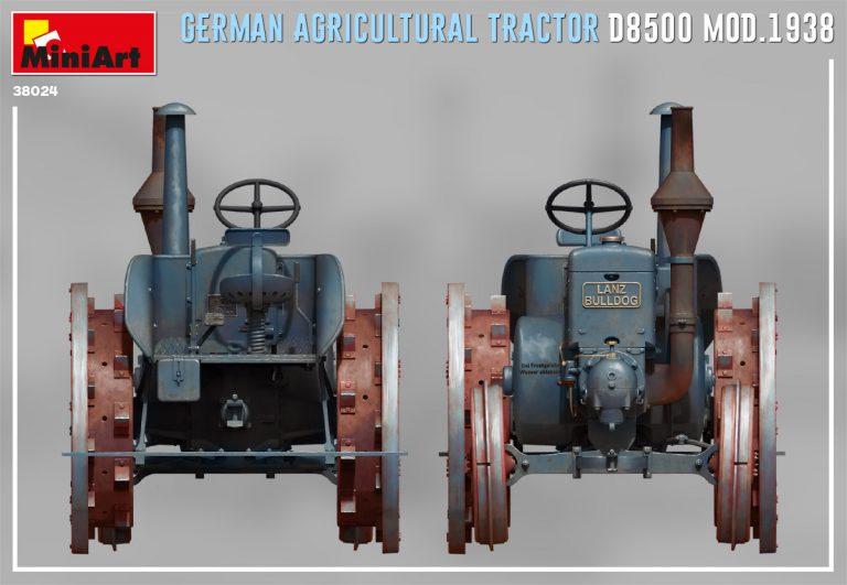 38024 ドイツ製トラクター D8500 1938年モデル