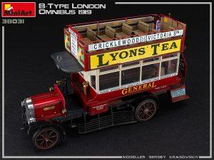 Photos 38031 B-TYPE Лондонский Омнибус 1919
