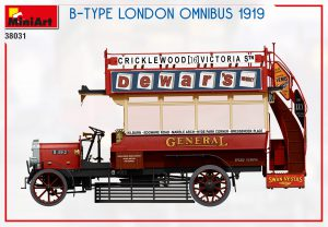 Side views 38031 B-TYPE Лондонский Омнибус 1919