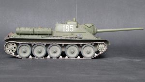 35187 SU-85 SOVIET SELF-PROPELLED GUN. INTERIOR KIT + Alexander