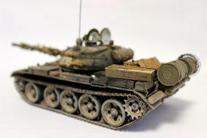 37057 T-55A EARLY Mod. 1965 + Dragos Gheorghiu